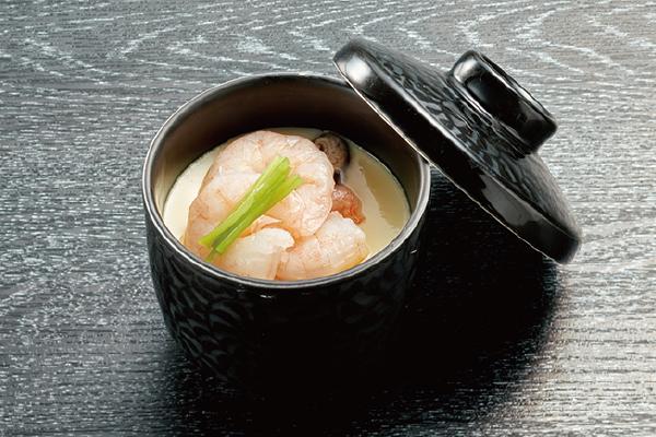 海老茶碗蒸し