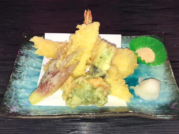 海鮮と夏野菜の天ぷら